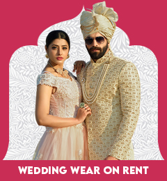 Wedding wear or rent